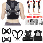 6 Type Back Posture Brace Belt Shoulder Support Corrector Pain Therapy Men Women