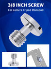 BGNING 3/8 Flat Head Convert Slotted NEW Screw Adapter for DSLR Camera Tripod