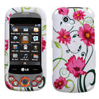 Design Snap on Cover Protector Case For LG GW370 Neon II
