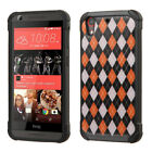 For Desire 626 Hard Design +Silicone Cover Protector Case