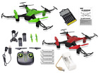 New Sky Phantom WiFi FPV Drone Bundle with Must Have Accessories - 23pcs Set