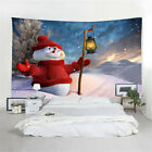 Christmas Tree Snow Flakes Tapestry Wall Hanging Living Room Bedroom Dorms