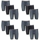 Fruit of the Loom Mens Boxer Briefs 12 Pack Everlight Breathable Nylon Spandex