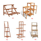 Wooden Plant Stand Outdoor Garden Flower Shelf Potted Plants Display Rack Holder