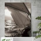 Used, Canvas Paintings Prints Sailboat Sea Nordic Abstract Sun Landscape Wall Pictures for sale  Shipping to Canada