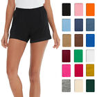 Jogger Shorts Cotton Casual Women Running Sport Shorts with Pockets Plus Size