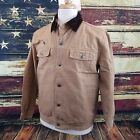 Wyoming Traders Mens Chisum Conceal Carry Canvas Western Jacket - TAN