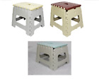 Plastic Small Folding Step Stools Multipurpose Ladders Easy Carry Foldable Stool
