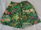 PRIDE Pacman Dart Frog Animal Print Tyvek Sz M L XL Shorts Swimming Trunks