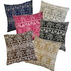 Pillow Cover*Elephant Thailand Cotton Canvas Sofa Seat Cushion Case Size*AL10