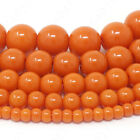 Czech Opaque Glass Beads Round Pearl Coated 4mm 6mm 8mm 10mm 12mm 16