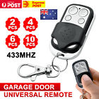 Universal Replacement Garage Door Car Gate Remote Control Cloning Key Fob 433
