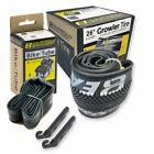 "Внешний вид - Eastern BMX Bike GROWLER 26"" TIRE AND TUBE REPAIR KIT BLACK/SILVER - 1 PACK"