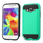 For Samsung Galaxy Core Prime/Prevail LTE Brushed Hybrid Protector Case Cover