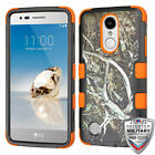 For LG K4/Phoenix 3/K8/Aristo TUFF Shockproof Impact Hybrid Protector Cover