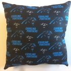 INCREDIBLE 15x15 NFL FOOTBALL CAROLINA PANTHERS COMPLETE THROW PILLOWS 3 STYLES on eBay