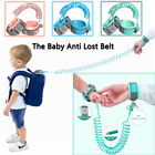 For Toddler Baby Kids US Safety Harness Leash Anti Lost Wrist Link Traction Rope