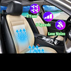 8 Fan Cooling Car Seat Cushion Cover Air Ventilated Fan Conditioned Cooler Pad