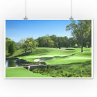 Golf Course Photography A-91230 (Art Posters, Wood & Metal Signs, Canvas, Totes)