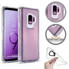 Clear Armor Case Shockproof Silicon Bumper Back For Samsung Galaxy Note 9 S9 S8