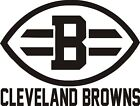 Cleveland Browns Vinyl Decal / Sticker 5 sizes and 5 colors on eBay