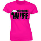 Firefighter Wife T-shirt Pride Husband Patriotic Fireman Gift For Wife Shirt