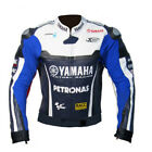 YAMAHA Motorbike/Motorcycle Leather Jacket MOTOGP Racing Biker Leather Jackets