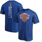 RJ Barrett New York Knicks NY NBA Fanatics Royal T-Shirt Playmaker Jersey on eBay