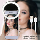 LED Mobile USB Charge Selfie Ring Light 4 Colors For Phone Supplementary