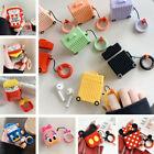 3D Cartoon Fries Minnie Popcorn Earphone Airpods Charging Case Cover For Airpod £4.49  on eBay