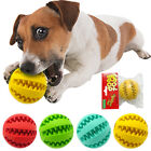 Indestructible Rubber Ball Dog Chew Toys Pet Puppy Food Dispenser Interactive