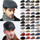 Womens Mens Gatsby Cap Golf Driving Sun Flat Cabbie Beret Newsboy Ivy Hats Caps