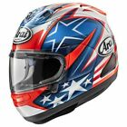 Arai Corsair-X Nicky-7 USA Colors Full Face Street Sport Bike Motorcycle Helmet