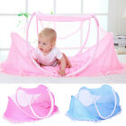 Foldable Portable Infant Baby Mosquito Net Crib Bed Tent With Pillow Tent N4Y7I image