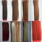 """One New 12""""-22"""" 100gr Fiber Weft Synthetic Hair Extensions Hairpiece Straight"""