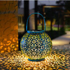Solar Powered LED Morrocan Lantern Decorative Hanging Outdoor Garden Lamp Light