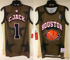 Travis Scott Cactus Jack Astroworld Houston Rockets Basketball Hip Hop Jersey on eBay