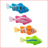 XYKTGH 4 Pack Swimming Robot Fish Electric Turbot Clownfish Water-Activated Toys
