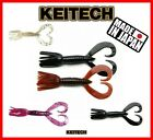 "Keitech Little Spider 2"" Lures Soft Squid Scent Baits 8pcs Lure Drop Shot Perch"