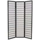 Foldable Room Divider Japanese Style Screen 3/4/5/6-Panel Multi Color Home Decor