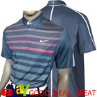 Nike Tiger Woods TW Stripe Polo Shirt  518104-426   ***Extremely Rare***