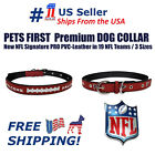 Pets First Best Dog Collar New NFL Signature PRO PVC-Leather Premium Dog Collar $11.99 USD on eBay