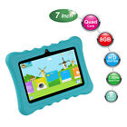 """7"""" inch Quad Core HD Tablet PC for Kids 8GB+1GB Android 8.1  WIFI  Case Bundled"""