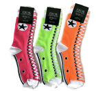 Sneaker Print Novelty Bar or Bat Mitzvah Party Socks 3-Pack Size 9-11