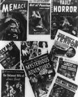 Horror Covers On Comic Books 1954 Vintage 8x10 Photography Reprint