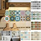 20 Pcs/set Self-adhesive 3d Ceramic Tile Stickers Removable Art Pvc Wall Decals