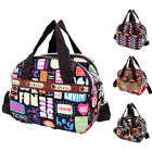 Charm Women'S Shoulder Bag Tote Messenger Cross Body Waterproof Canvas Handbag W image