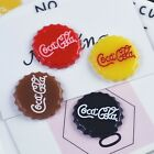 20pcs Coke bottle cap Slime Raw Material Pastel Resin Cabochons Diy $18.99  on eBay