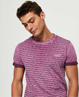 Superdry Mens Low Roller Clash Stripe T-Shirt