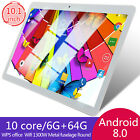 10Inch Tablet Android 8.0 6 64GB Tablet PC with TF Card Slot and Dual Camera new